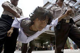 Jakarta Palm Oil Protest