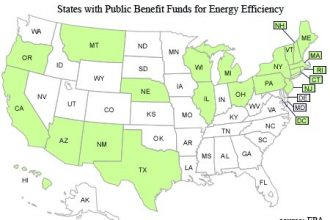 states with public benefit funds for energy efficiency - EPA