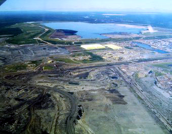 Syncrude's Mildred Lake plant