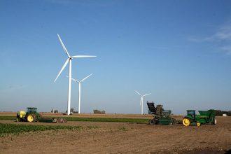 Windmills in Michigan