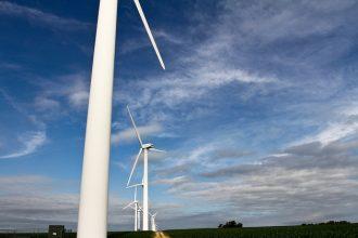 Wind turbines in Wisconsin
