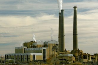 A coal-fired power plant in Utah