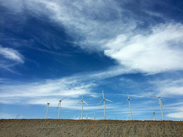 Wind turbine assembly