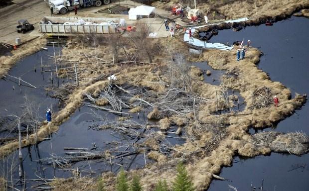 Rainbow Pipeline Spill