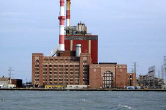 The State Line Power Station near Chicago