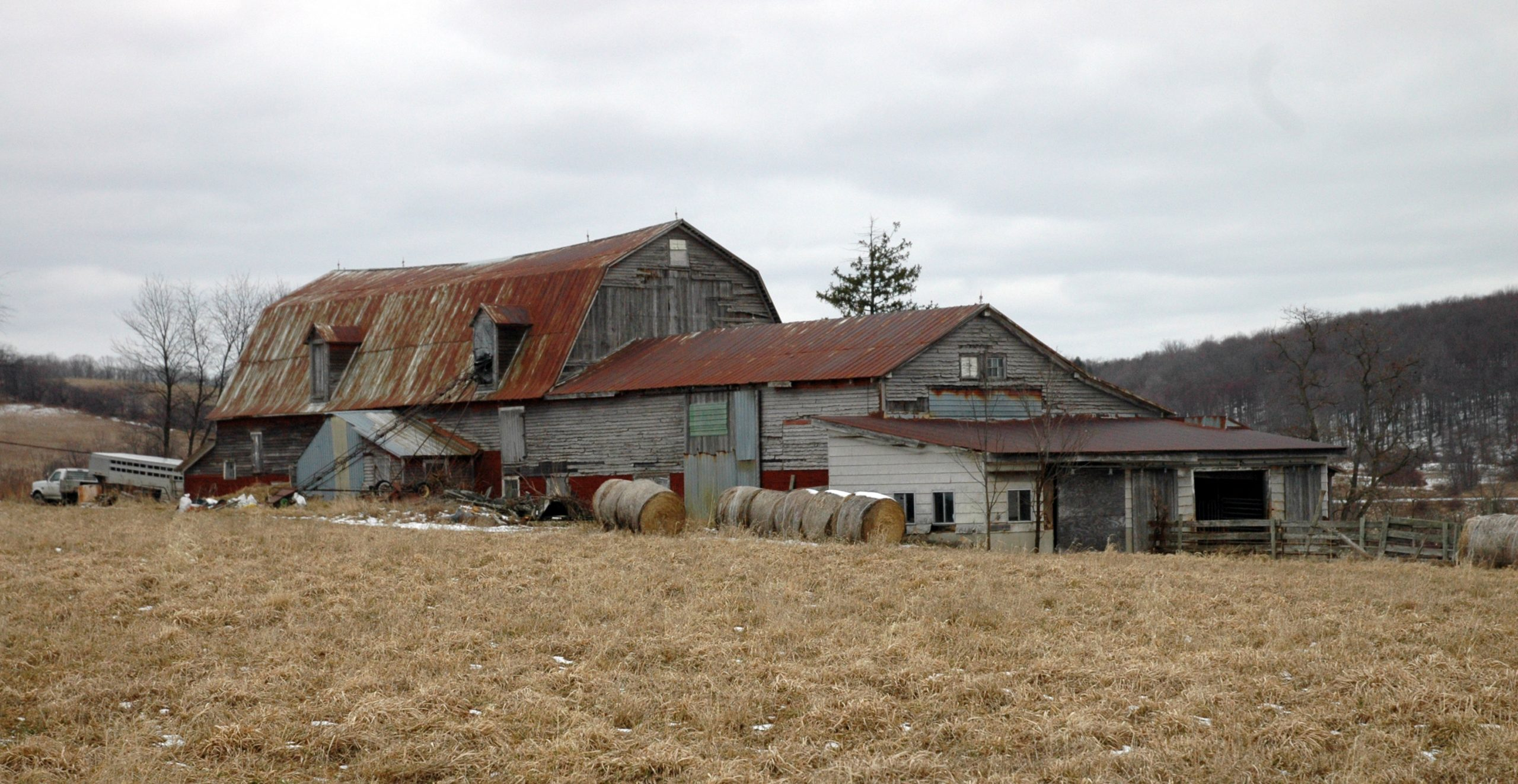Barn in Montrose Susquehanna County, Pa.