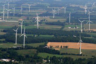 Blue Sky Green Field Wind Farm