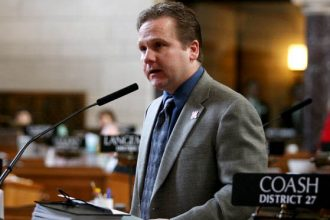 Nebraska senator Colby Coash