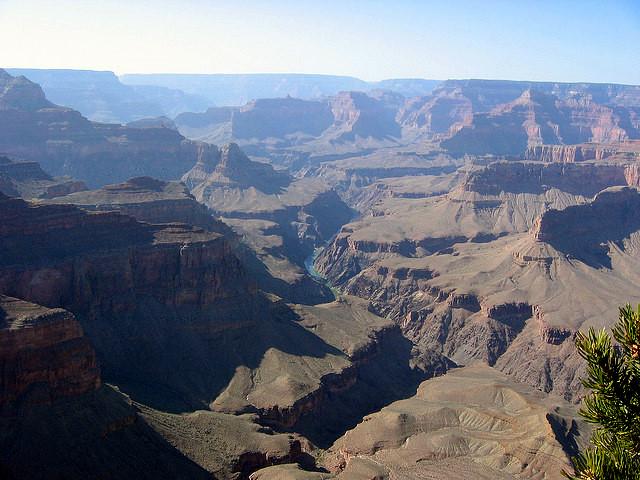 Grand Canyone haze