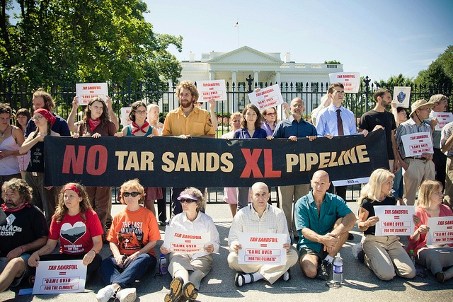 Keystone XL sit-in