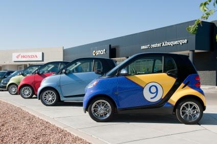 Smart Cars in Albuquerque, N.M.