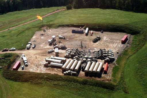 A GasFrac well pad in Alberta, Canada