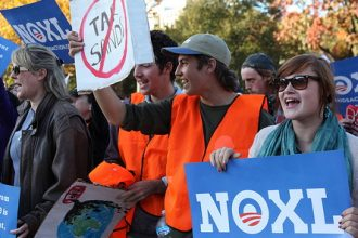 Nov. 6 protest at the White House