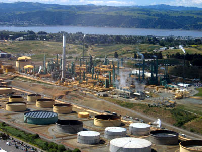Valero's Benicia refinery in Solano County, Calif.