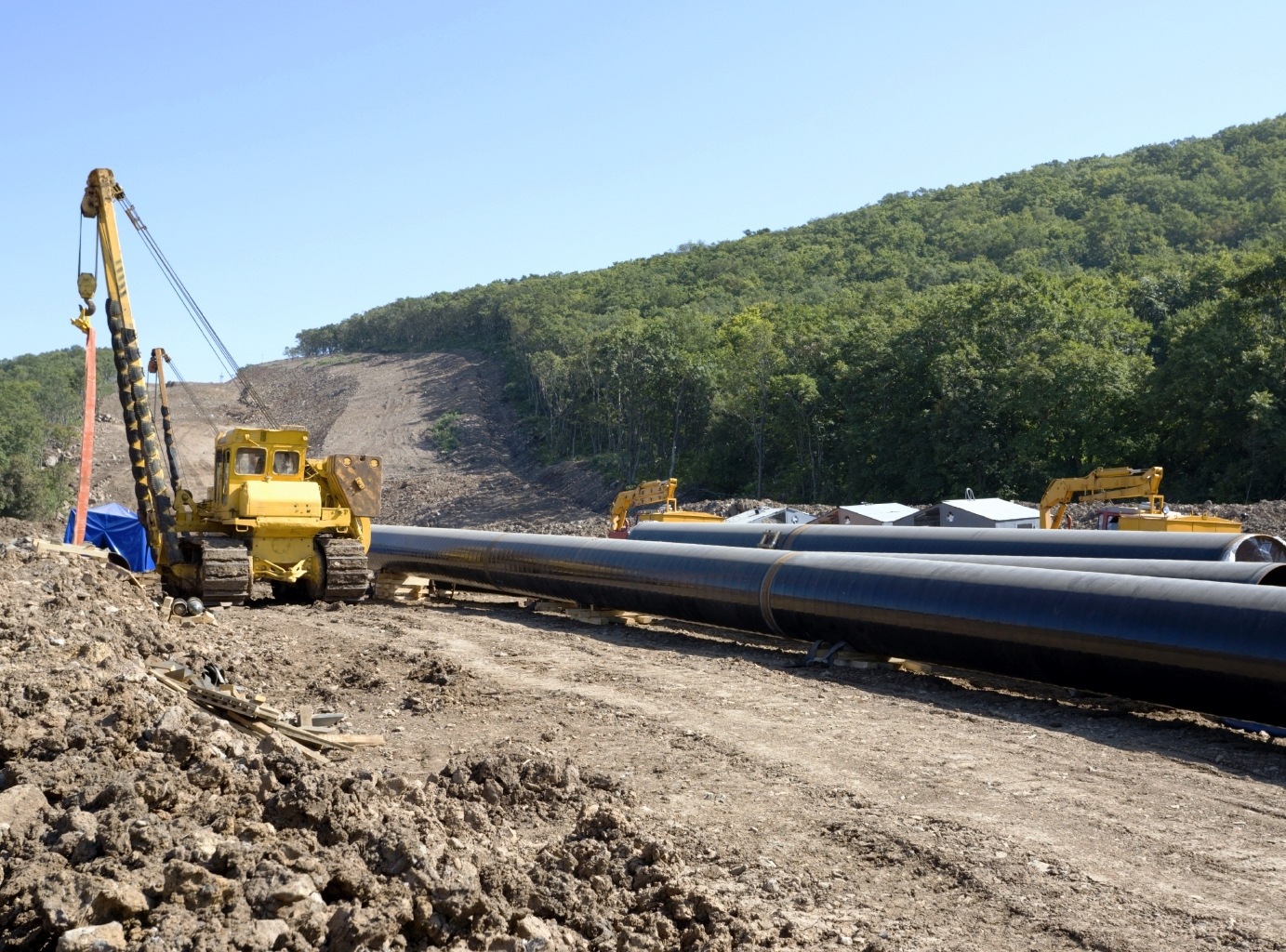 Construction of a new pipeline