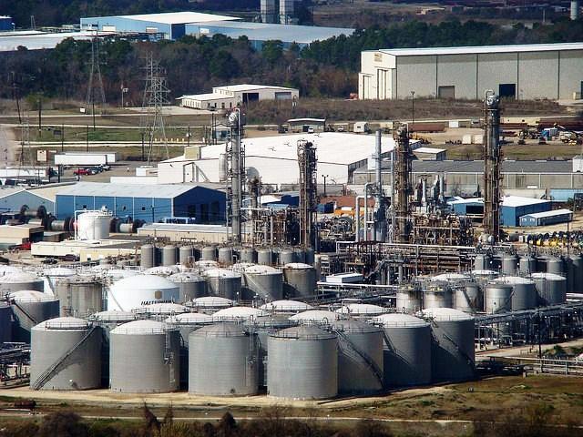 Houston petroleum refineries