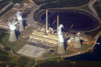 The Robert W. Scherer Power Plant near Macon, Ga., is the nation's largest singl