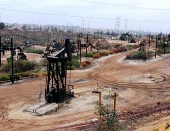 The Inglewood Oil Field in Los Angeles, Calf.