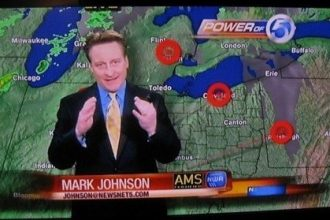 Mark Johnson, meteorologist for WEWS ABC in Cleveland, Ohio