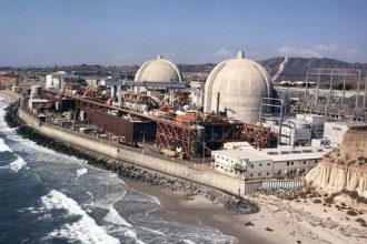 San Onofre Nuclear Generating Station, Units 2 and 3. The nuclear power plants a