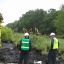 Initial cleanup of a 5-acre contaminated zone in the pipeline break area