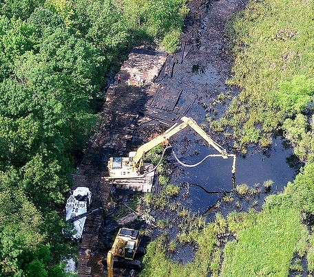 The Kalamazoo River remained closed to the public for almost two years.