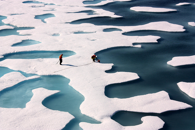 NASA scientists study changing conditions in the Arctic as part of the agency's