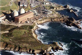 The Diablo Canyon Nuclear Power Plant at Avila Beach in San Luis Obispo County,