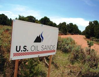 U.S. Oil Sands, a Canadian company, has leased about 32,000 acres in Utah for ta