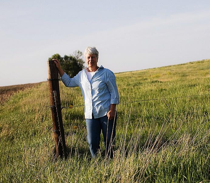 Susan Dunavan is one of the landowners who filed the lawsuit challening Nebraska
