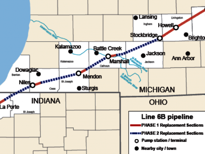 Map of Line 6b replacement
