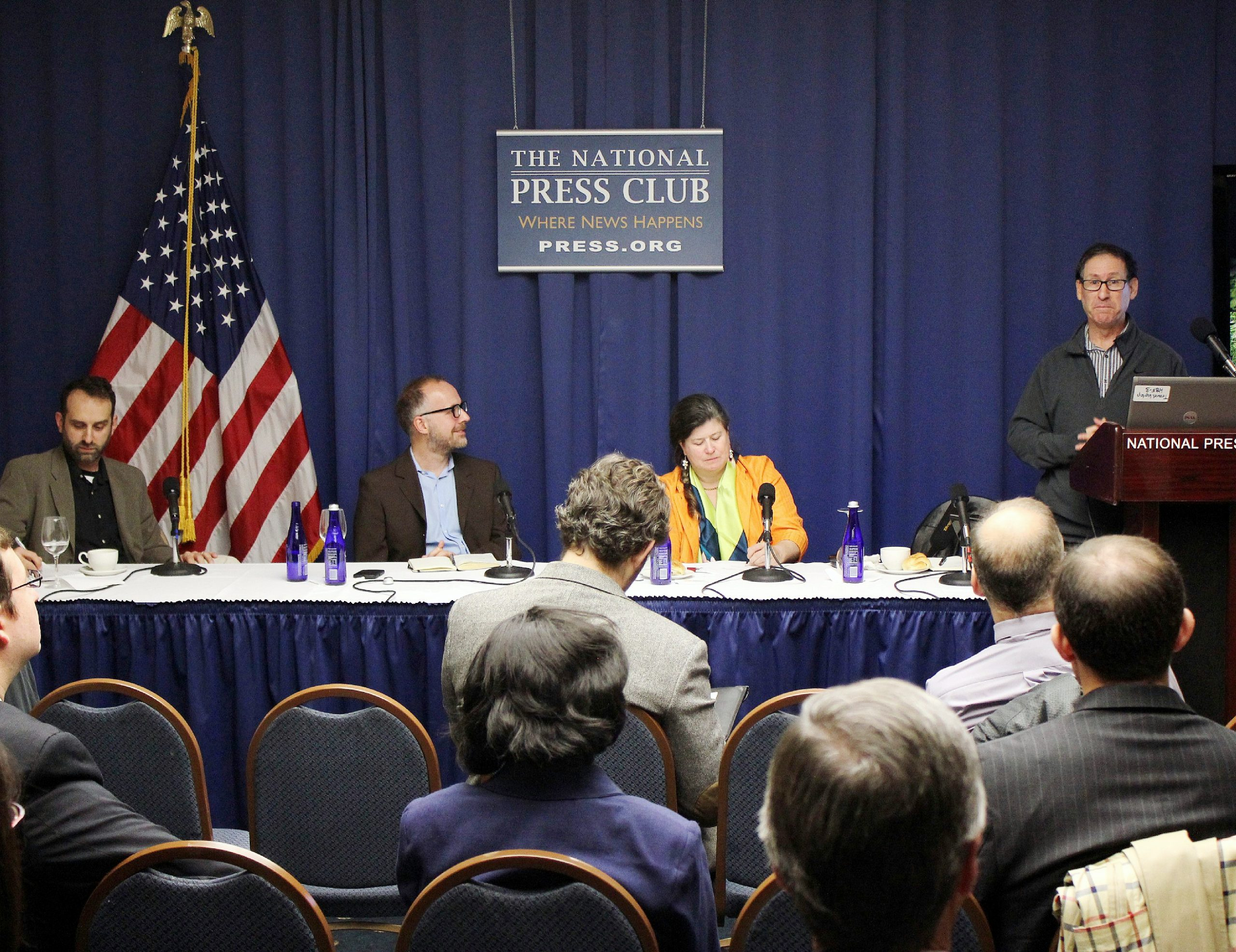 Panel discussion on InsideClimate News book Clean Break