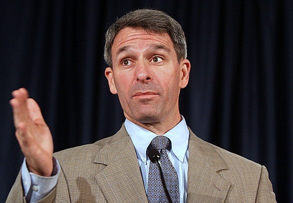 Virginia's Republican attorney general, Kenneth Cuccinelli, speaks at the 2012 L