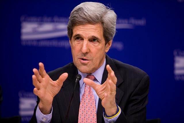 Sen. John Kerry/Credit: Center for American Progress, flickr