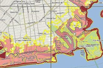 FEMA released revised flood zone maps of New York City on January 28.