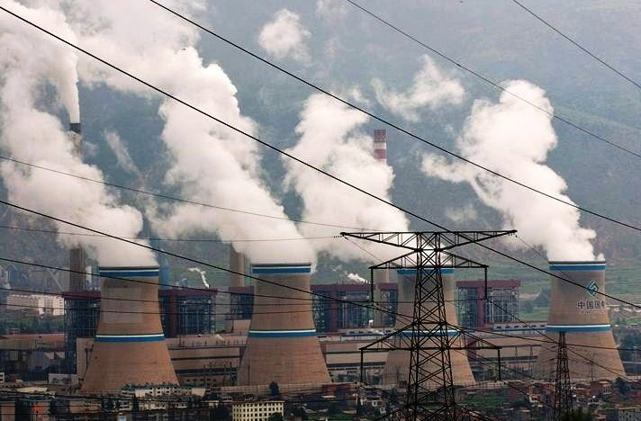 State-owned Xuanwei Power Station in Xuanwei, Yunnan province in China