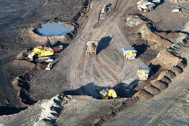 Suncor Millenium oil sands mine