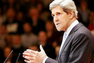 Secretary of State John Kerry delivers remarks