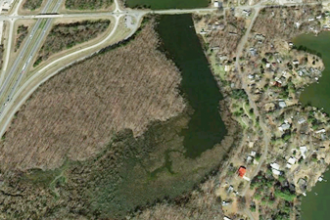 Cove at Lake Conway Google Earth Exxon oil spill
