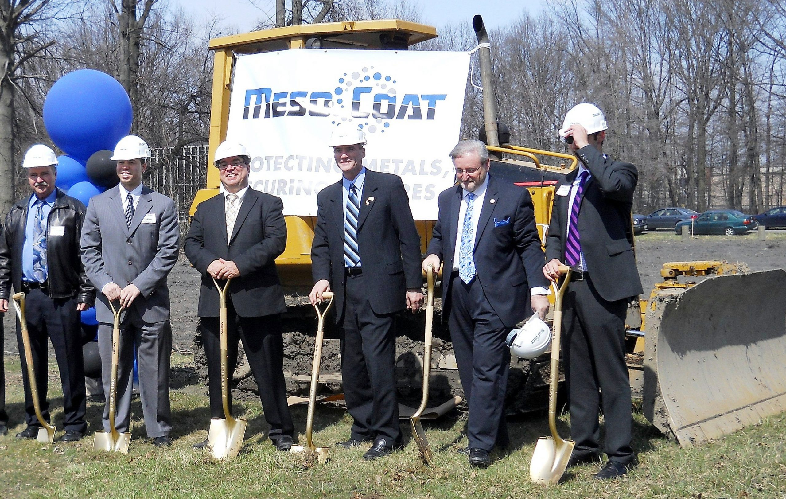 MesoCoat, Inc. breaks ground on its clad pipe manufacturing facility in Euclid,