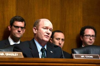 Sen. Chris Coons (D-Del.), one of the sponsors of the Master Limited Partnership