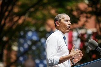 President Barack Obama delivers climate speech
