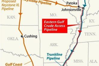 Eastern Gulf Crude Access Pipeline