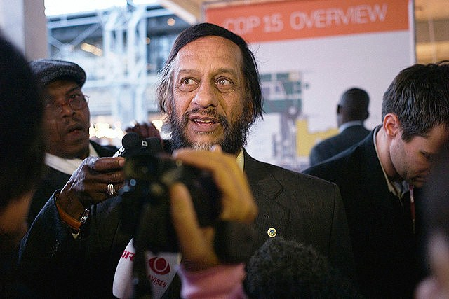 Dr. Rajendra Pachauri, chairperson of the United Nations Intergovernmental Panel