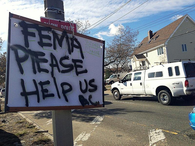 FEMA ignores climate change