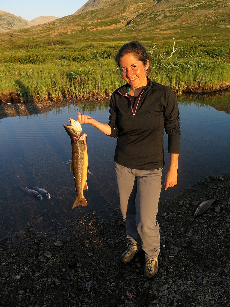Sabrina Shankman of InsideClimate News in the Torngats in August 2014.