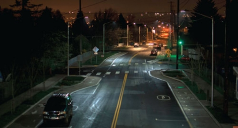 The use of LED lights will save money, but might encourage more lighting