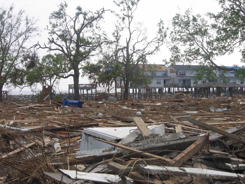 Slidell, La., took the brunt of Hurricane Katrina hard.