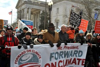 President Obama will likely see more climate protests over his approval of Arctic drilling.