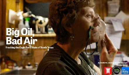 """The InsideClimate News project """"Big Oil + Bad Air"""" was honored by the Society of Environmental Journalists"""